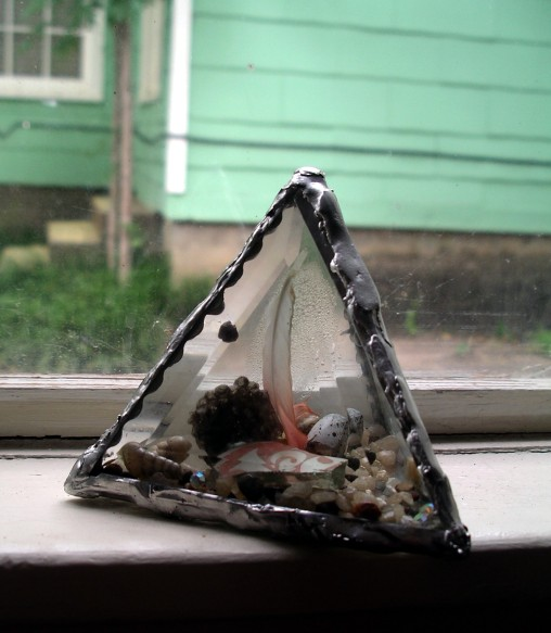 pyramid time capsule