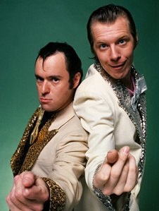 Lenny and squiggy vegas suits