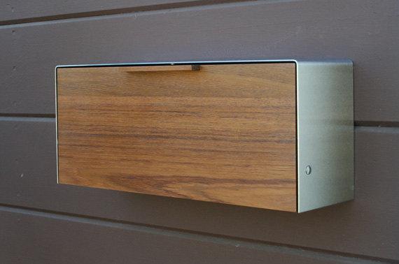 mailbox teak